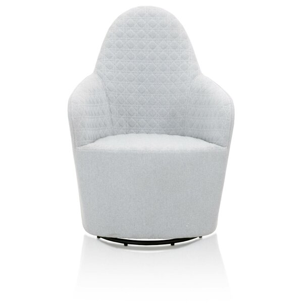 Safira Swivel Barrel Chair by Brayden Studio