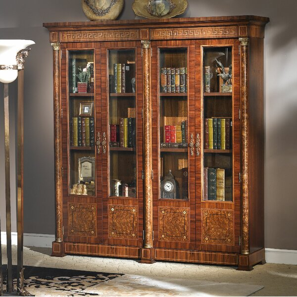 Orpheus Four Door Oversized Library Bookcase by Astoria Grand