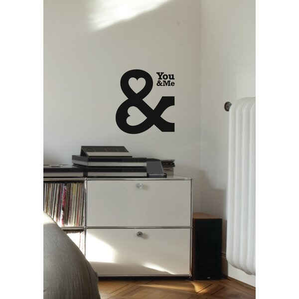 Mia & Co You & Me Wall Decal by ADZif