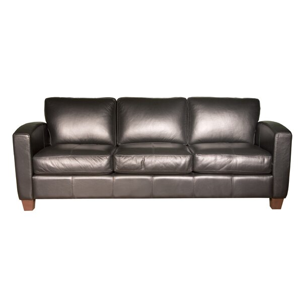 2018 Top Brand Azuela Leather Sofa by Loon Peak by Loon Peak