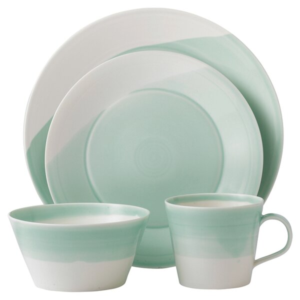 1815 16 Piece Dinnerware Set, Service for 4 by Royal Doulton