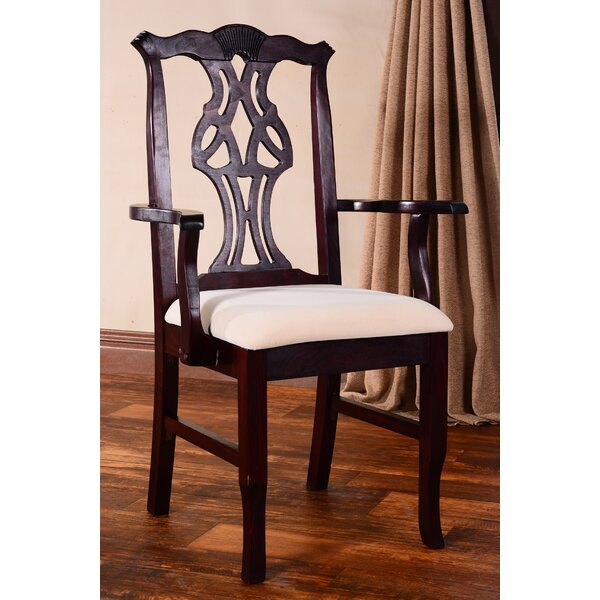 Chippendale Upholstered Dining Chair by Benkel Seating