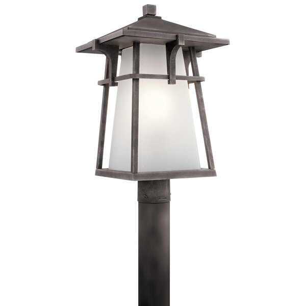 Paradise Outdoor 1-Light Lantern Head by Loon Peak