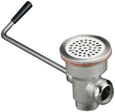 Commercial Strainer Twist Handle 1.5 Grid Bathroom Sink Drain by Premier Faucet