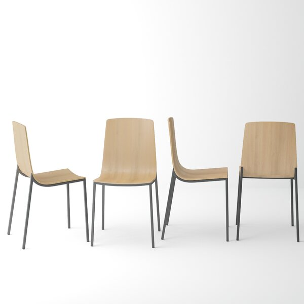 Avenir Solid Wood Dining Chair (Set of 2) by Foundry Select