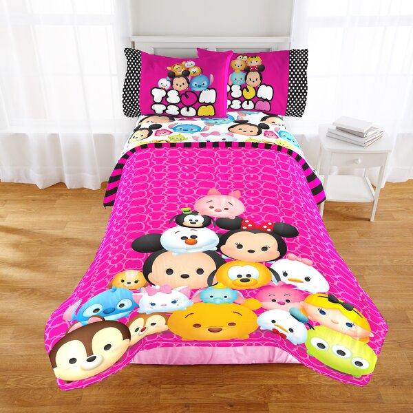 Disney Tsum Tsum Faces Twin/Full Reversible Comforter by Shopkins