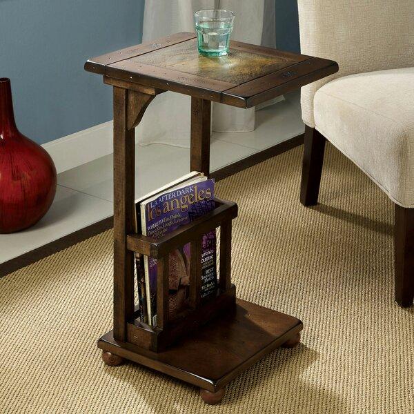 Stallard Tray Top Floor Shelf End Table By Alcott Hill
