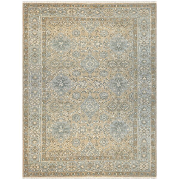 Blackwell Hand-Knotted Blue/Gray Area Rug by Astoria Grand