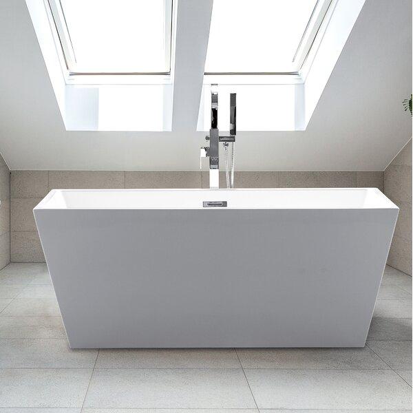 24 x 63 Sophia Freestanding Soaking Bathtub by CastelloUSA
