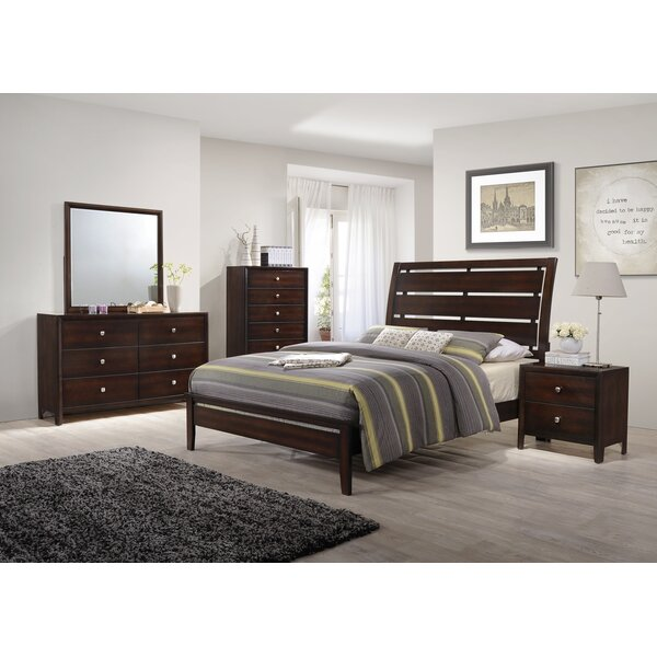 Chara Panel Configurable Bedroom Set by Latitude Run