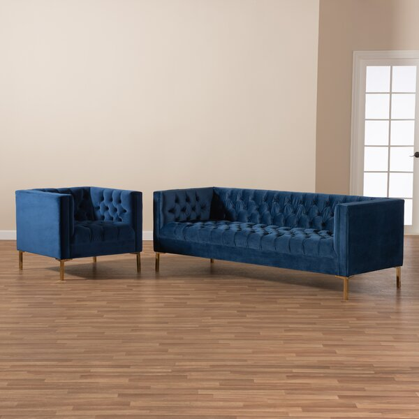 Conde 2 Piece Living Room Set by Mercer41
