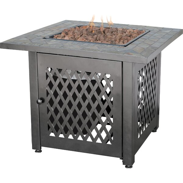Steel Propane Fire Pit Table by Uniflame Corporation