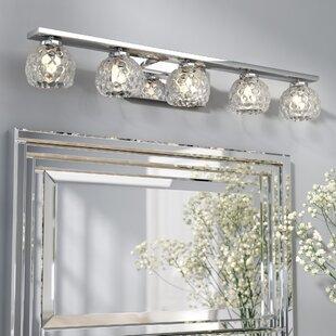 Order Aidy 5-Light Vanity Light ByWilla Arlo Interiors