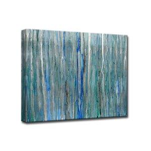 'Arctic Rain' by Norman Wyatt Jr. Framed Painting Print by Ready2hangart