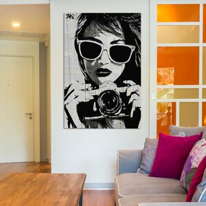 'Shoot' Painting Print on Wrapped Canvas by East Urban Home