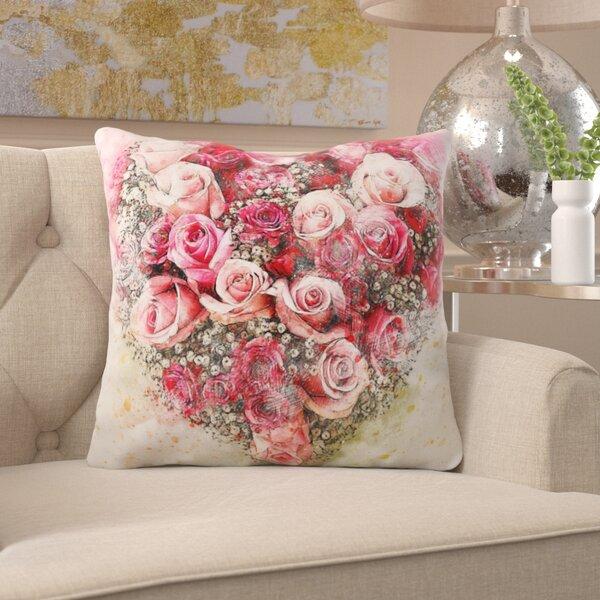 Sammie Flowers Throw Pillow
