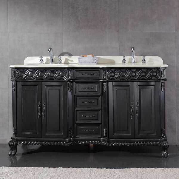 Trent 60 Double Bathroom Vanity Set by Ove Decors