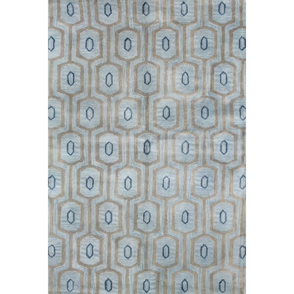Ashland Light Blue Area Rug by Bashian Rugs