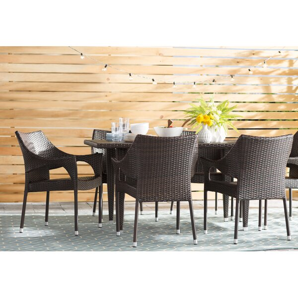 Nevius 7 Piece Dining Set by Mercury Row