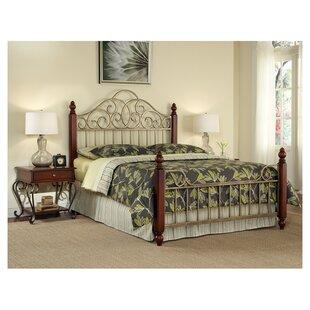 Brigitte Panel Bed by Fleur De Lis Living