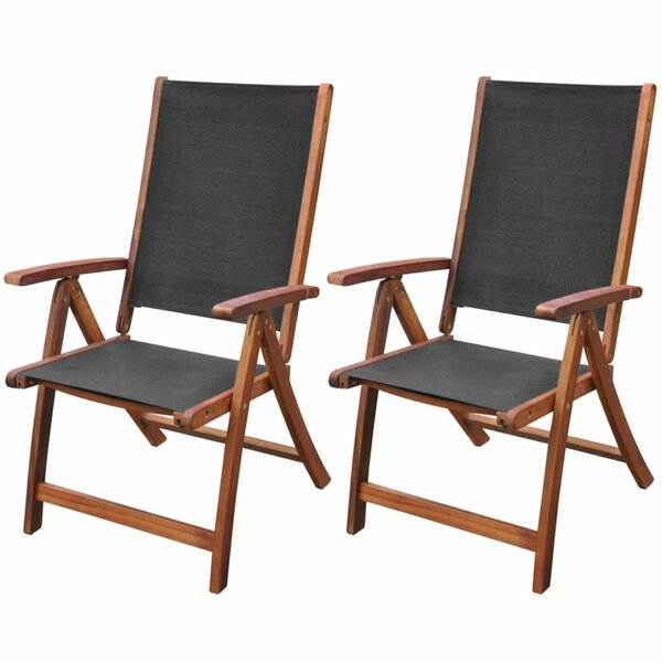Chiana Reclining/Folding Beach Chair (Set of 2) by Bay Isle Home Bay Isle Home