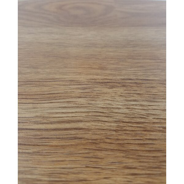 4.86 x 47.24 x 10mm Oak Laminate Flooring in Golden by Abolos