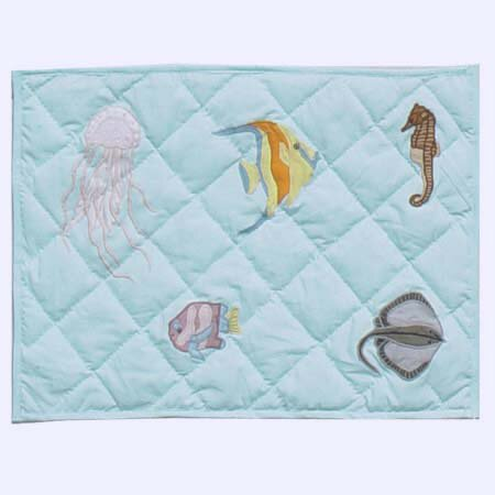 Underwater Haven Placemat (Set of 4) by Patch Magic