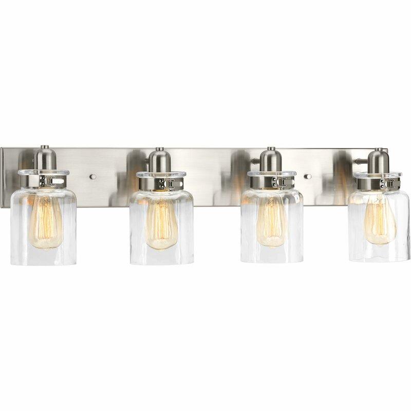 4 light vanity iron vasilia 4light vanity light reviews allmodern