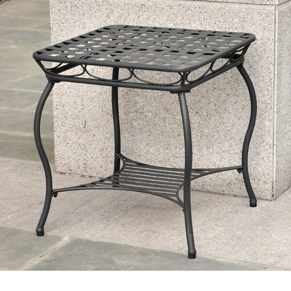 Schilling Metal Side Table by Alcott Hill