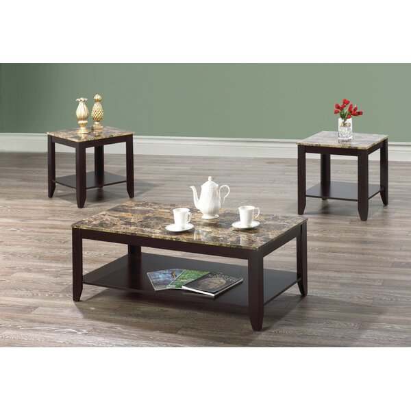 Metz 3 Piece Coffee Table Set by Winston Porter Winston Porter