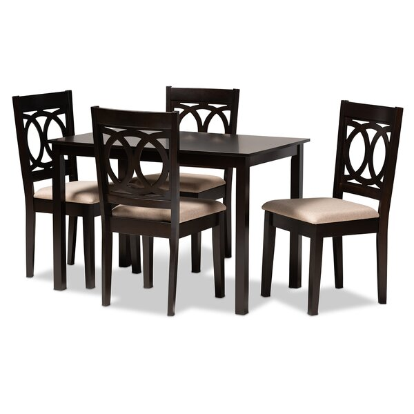 Bothell 5 Piece Dining Set by Canora Grey Canora Grey