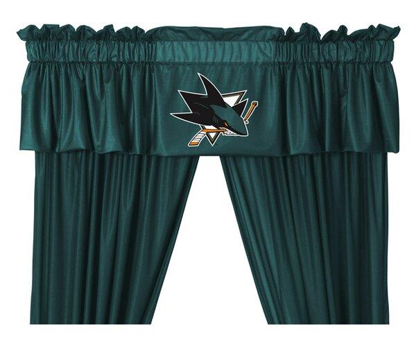 NHL San Jose Sharks 88 Curtain Valance by Sports Coverage Inc.