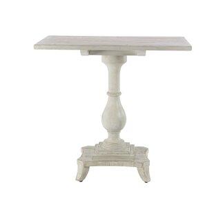 Kozlowski Traditional Pine Wood Rectangular End Table