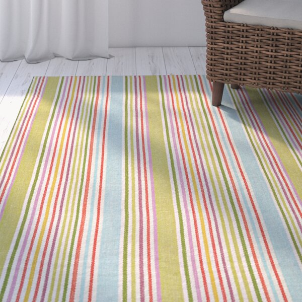 Artique Hand-Woven Popsicle Area Rug by Highland Dunes