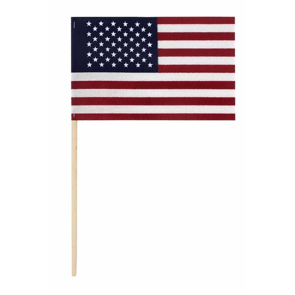 American Stick Cotton Rectangle Flag by U.S. Flag Store