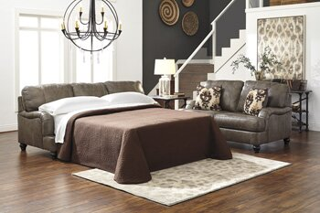 McDonald Sleeper Leather Living Room Collection by Darby Home Co