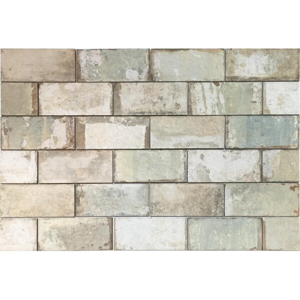 Havana 4 x 8  Porcelain Subway Tile in Mojito by Tesoro