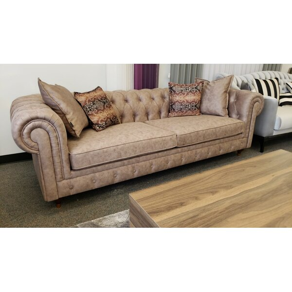 Schlenker Chesterfield 89'' Rolled Arm Sofa By Darby Home Co