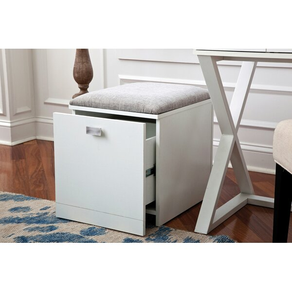 Robbe 1-Drawer Mobile Vertical Filing Cabinet
