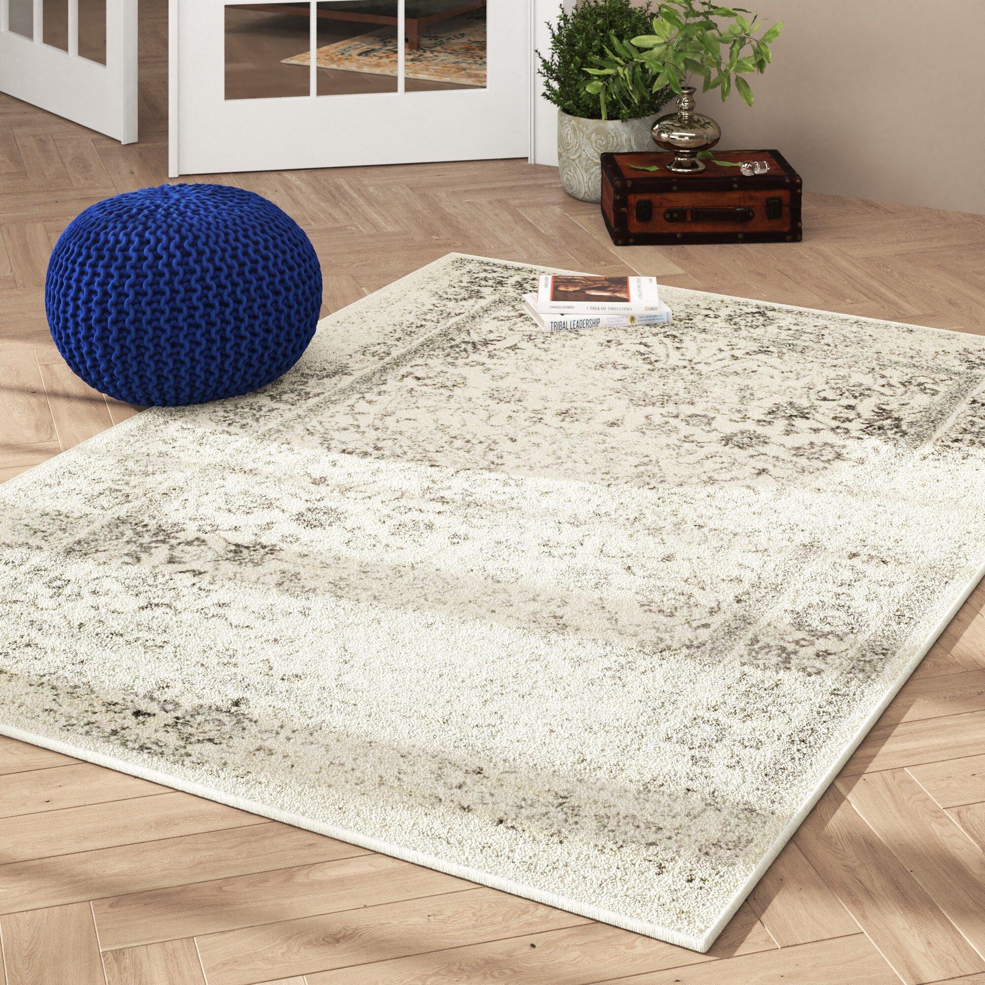 Rugs & Carpets sample available EURO FLOR Woven Vinyl Rug Silver 6 ...