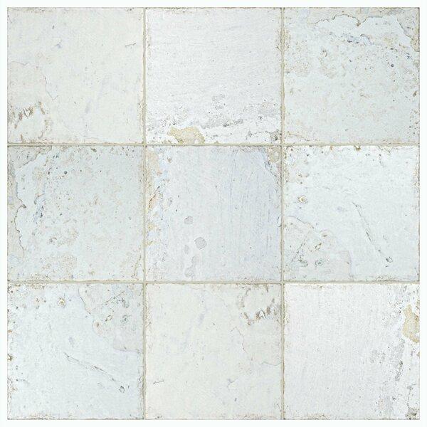 Aevit 7.88 x 7.88 Ceramic Field Tile in White by EliteTile
