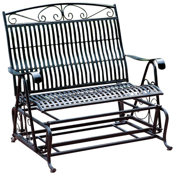 Outstanding Metal Patio Gliders Caraccident5 Cool Chair Designs And Ideas Caraccident5Info