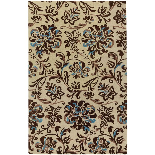 Monaco Hand Tufted Light Beige River Rock Area Rug by Capel Rugs