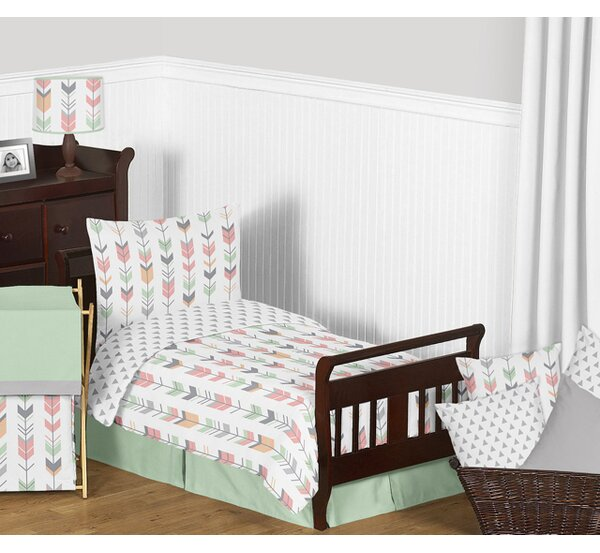 Mod Arrow 5 Piece Toddler Bedding Set by Sweet Jojo Designs
