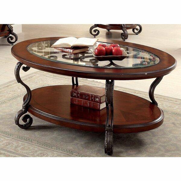 Fleur De Lis Living Oval Coffee Tables