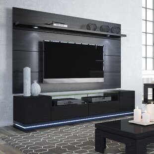 Inexpensive Danforth Floating Wall TV Stand for TVs up to 78 By Ebern Designs