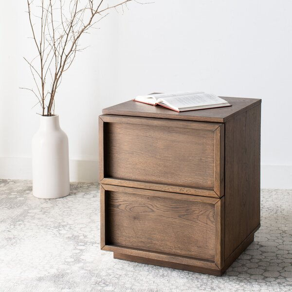 Imogen 2 Drawer Nightstand by Union Rustic