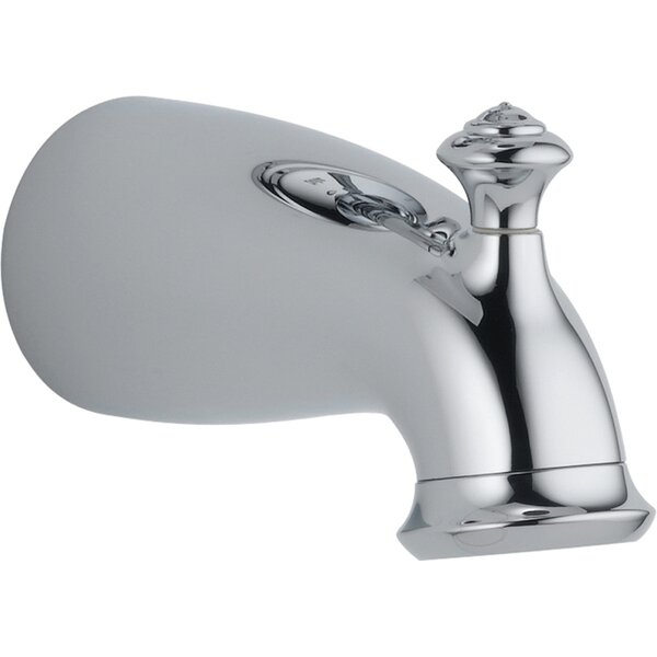 Leland Wall Mounted Tub Spout Trim with Diverter by Delta Delta