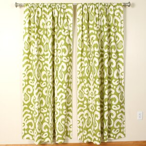 Rod Pocket Curtain Panels (Set of 2)