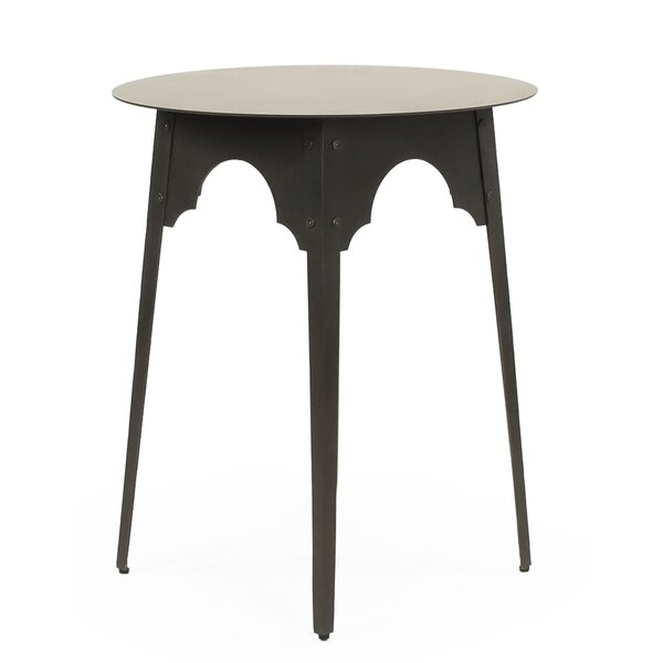 Gaylon Metal Small End Table By Bloomsbury Market